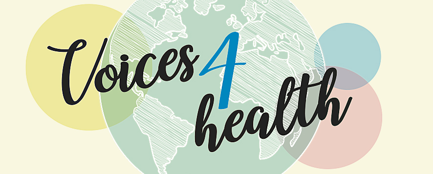 Voices for health logotype
